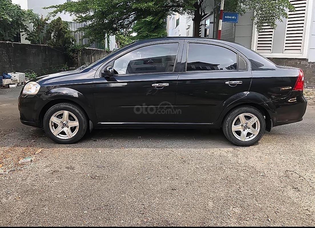Cần bán lại xe Chevrolet Aveo sản xuất 2013, màu đen số sàn-0