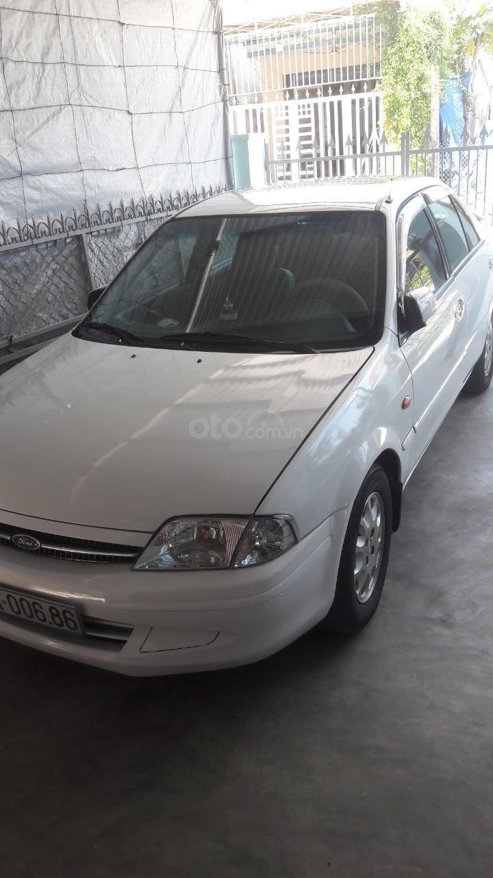 Bán Ford Laser Deluxe 1.6 MT năm 2001, màu trắng, xe nhập (2)