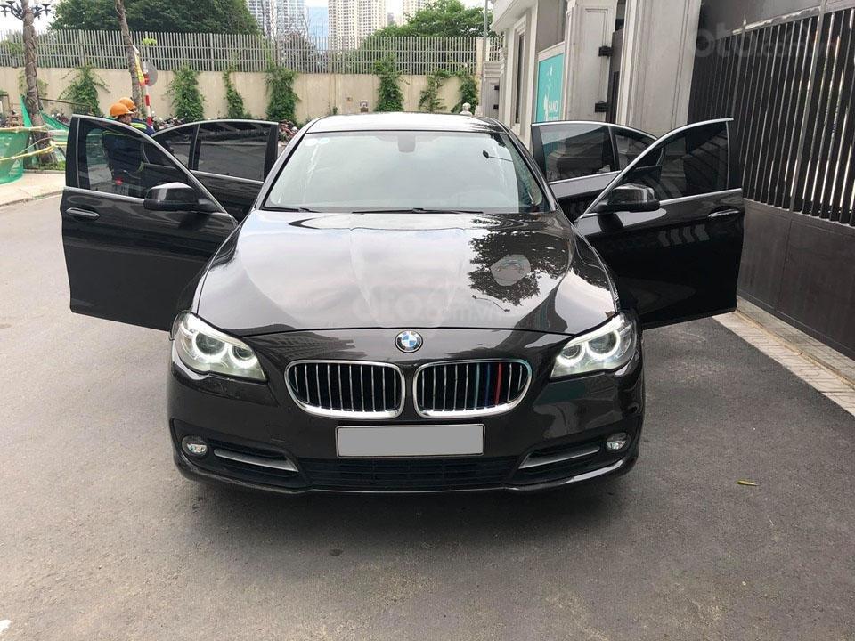 Bán BMW 520i Sx 2014 DK 2015 màu nâu Full option: Cửa hít, cốp điện-2