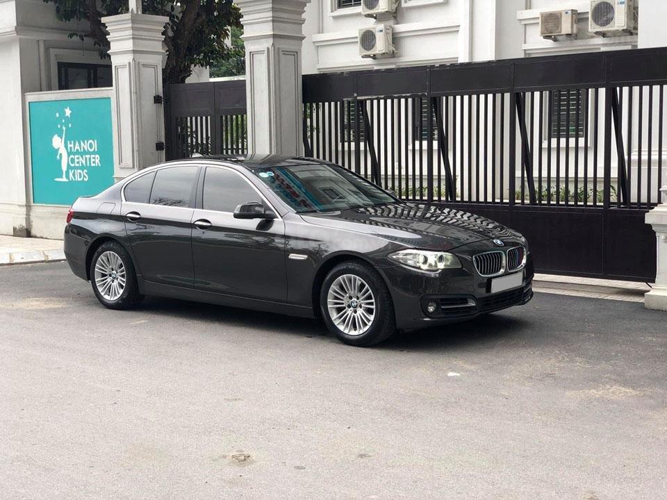 Bán BMW 520i Sx 2014 DK 2015 màu nâu Full option: Cửa hít, cốp điện-1