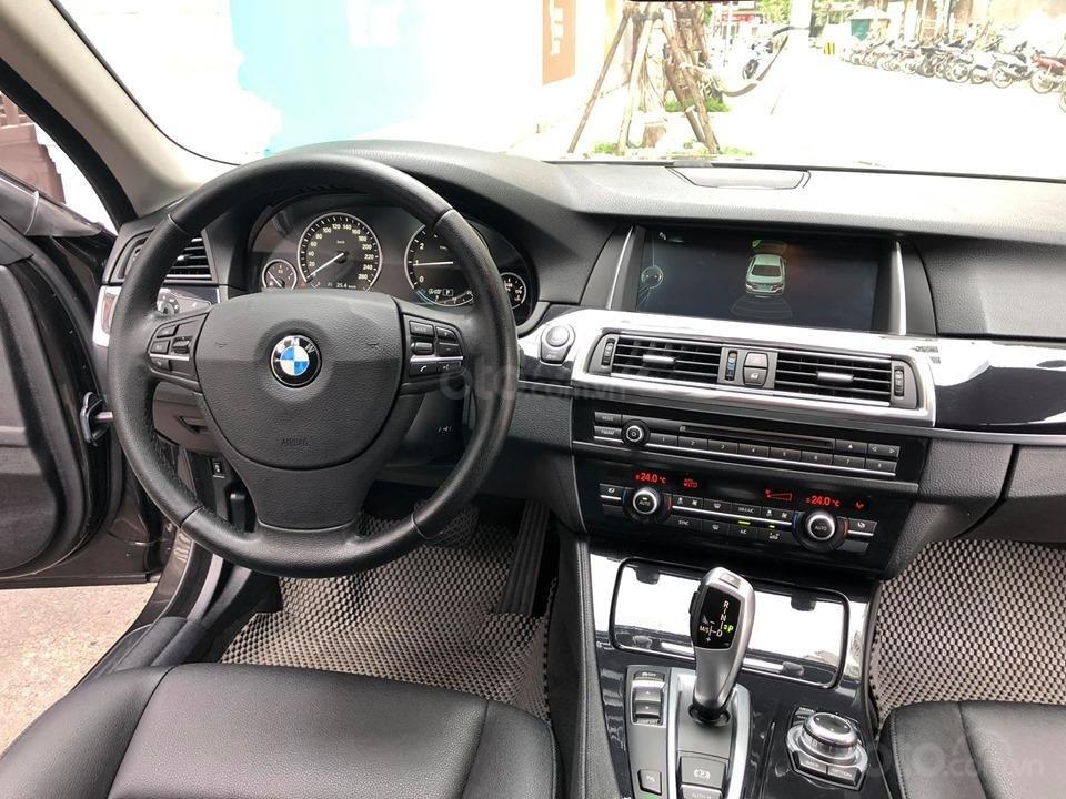 Bán BMW 520i Sx 2014 DK 2015 màu nâu Full option: Cửa hít, cốp điện-6