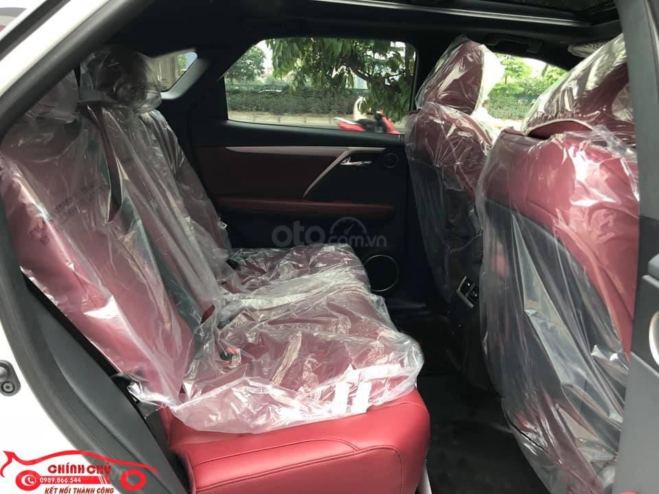 Giao ngay Lexus RX 350 F-Sport SX 2019, màu trắng nội thất đỏ cực hiếm-8