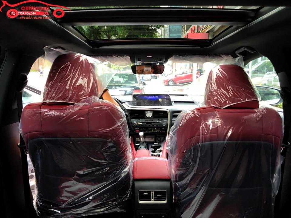 Giao ngay Lexus RX 350 F-Sport SX 2019, màu trắng nội thất đỏ cực hiếm-5