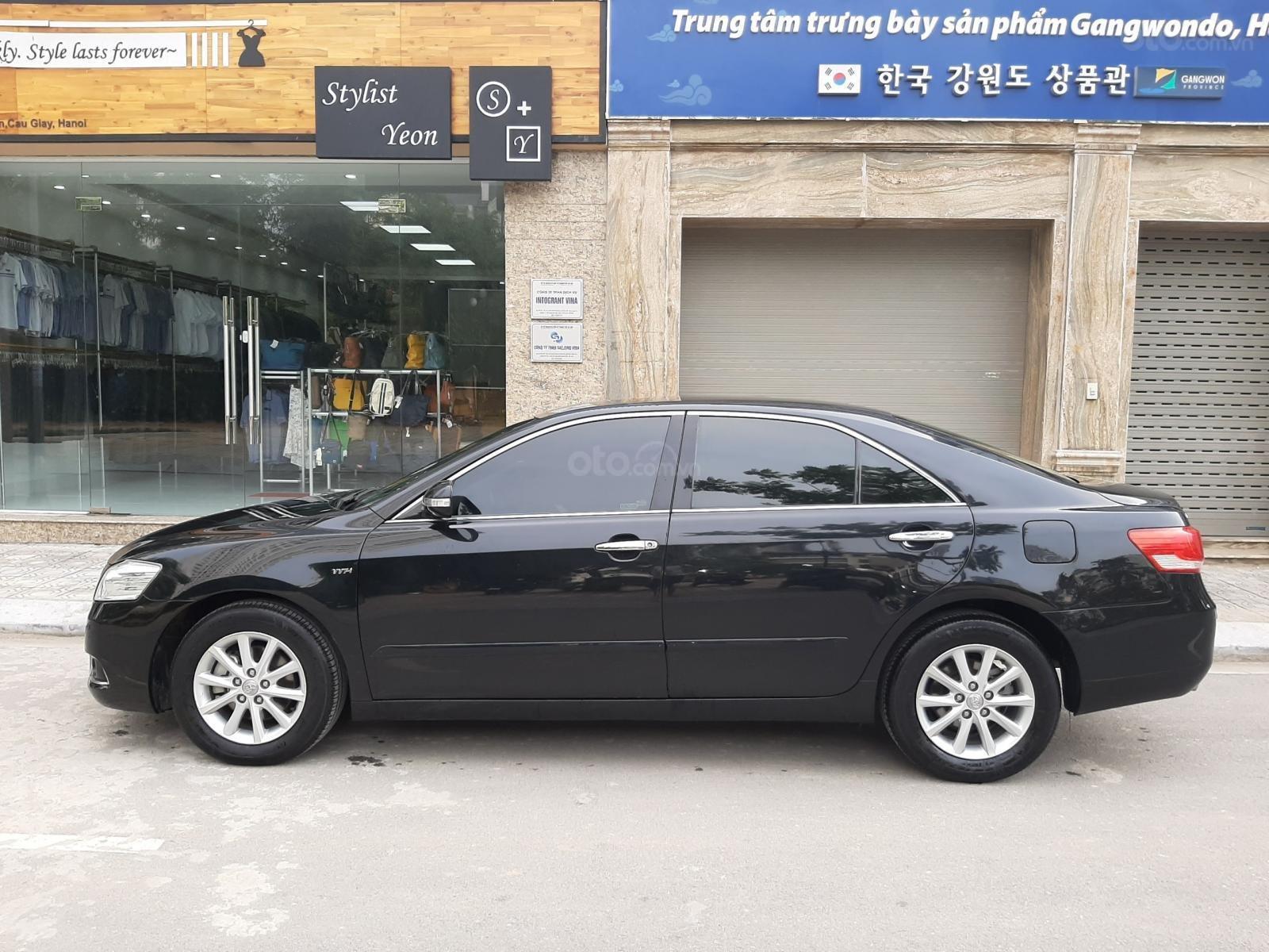Bán Toyota Camry 2.4G sản xuất năm 2010, màu đen số tự động, 615 triệu (8)