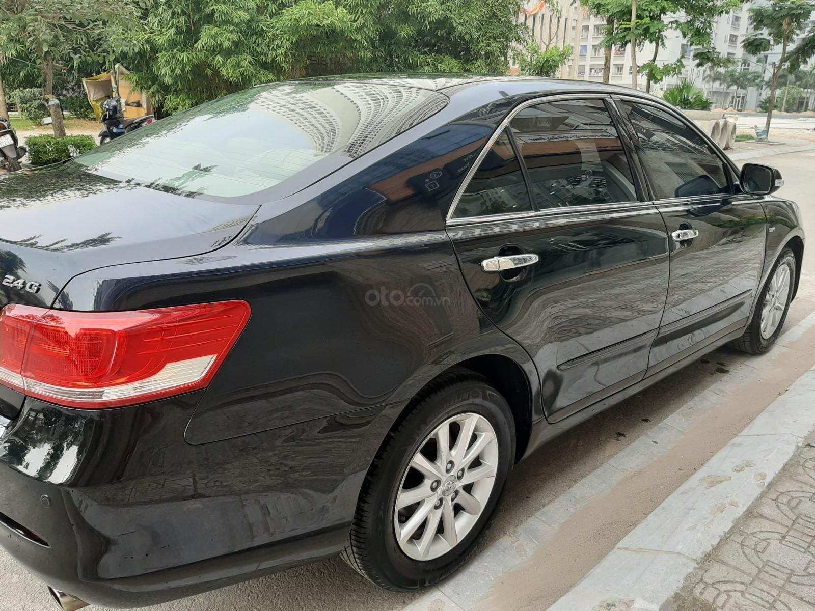 Bán Toyota Camry 2.4G sản xuất năm 2010, màu đen số tự động, 615 triệu (10)