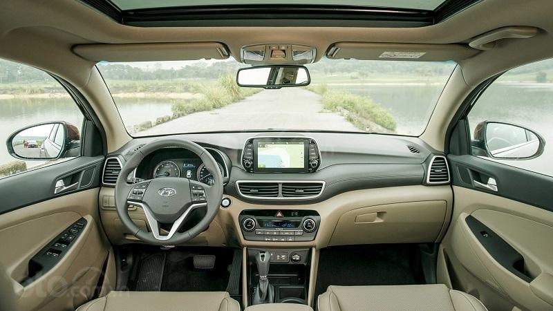 Hyundai Tucson 2019 sẽ khó rộng rãi được như Mazda CX-5 2019 3
