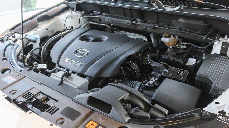 Hyundai Tucson 2019 và Mazda CX-5 2019 có công suất tương đương nhau.
