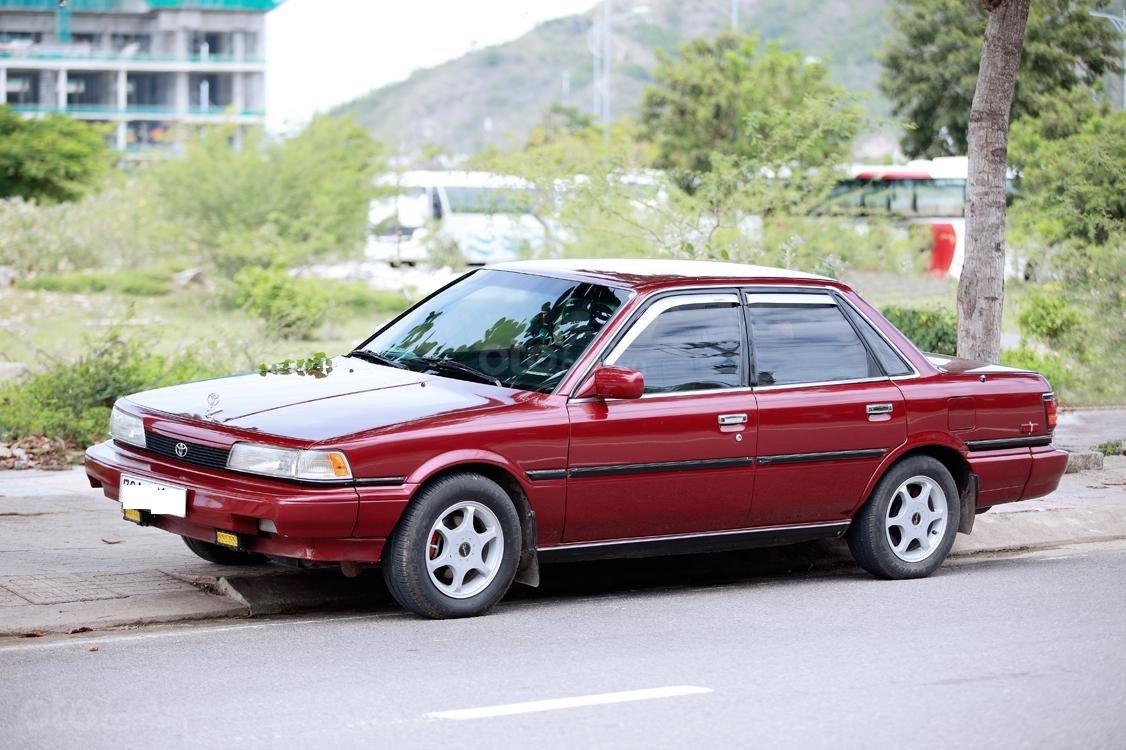 Bán Camry 1988, màu đỏ, nhập khẩu còn rất zin đẹp, giá 120tr (1)