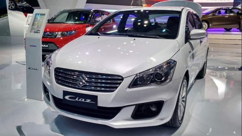 Suzuki Ciaz lần đầu tiên trình làng tại triển lãm ô tô Việt Nam năm 2016..