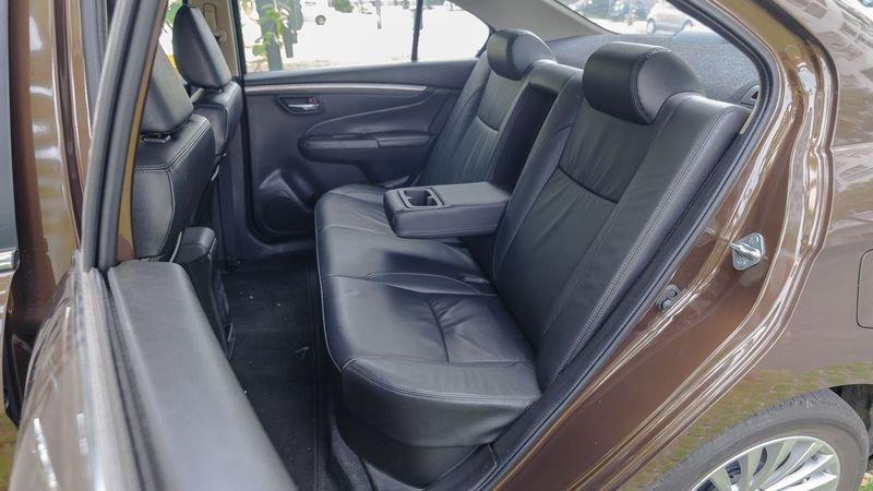 Ảnh hàng ghế sau xe Suzuki Ciaz 2019