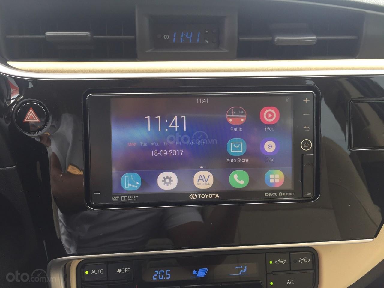 Đánh giá xe Toyota Corolla Altis 2019: Màn hình cảm ứng 7-inch a1