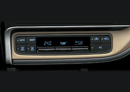 Đánh giá xe Toyota Corolla Altis 2019: Hệ thống điều hòa 1