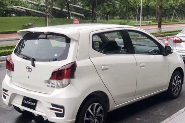 Bán xe Toyota Wigo 1.2 AT đời 2019, màu trắng, nhập khẩu nguyên chiếc (1)