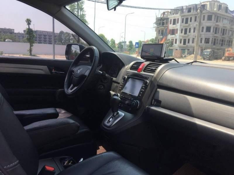 Bán Honda CR V 2010 tự động bản 2.4 full, màu đen bóng rất đẹp-1