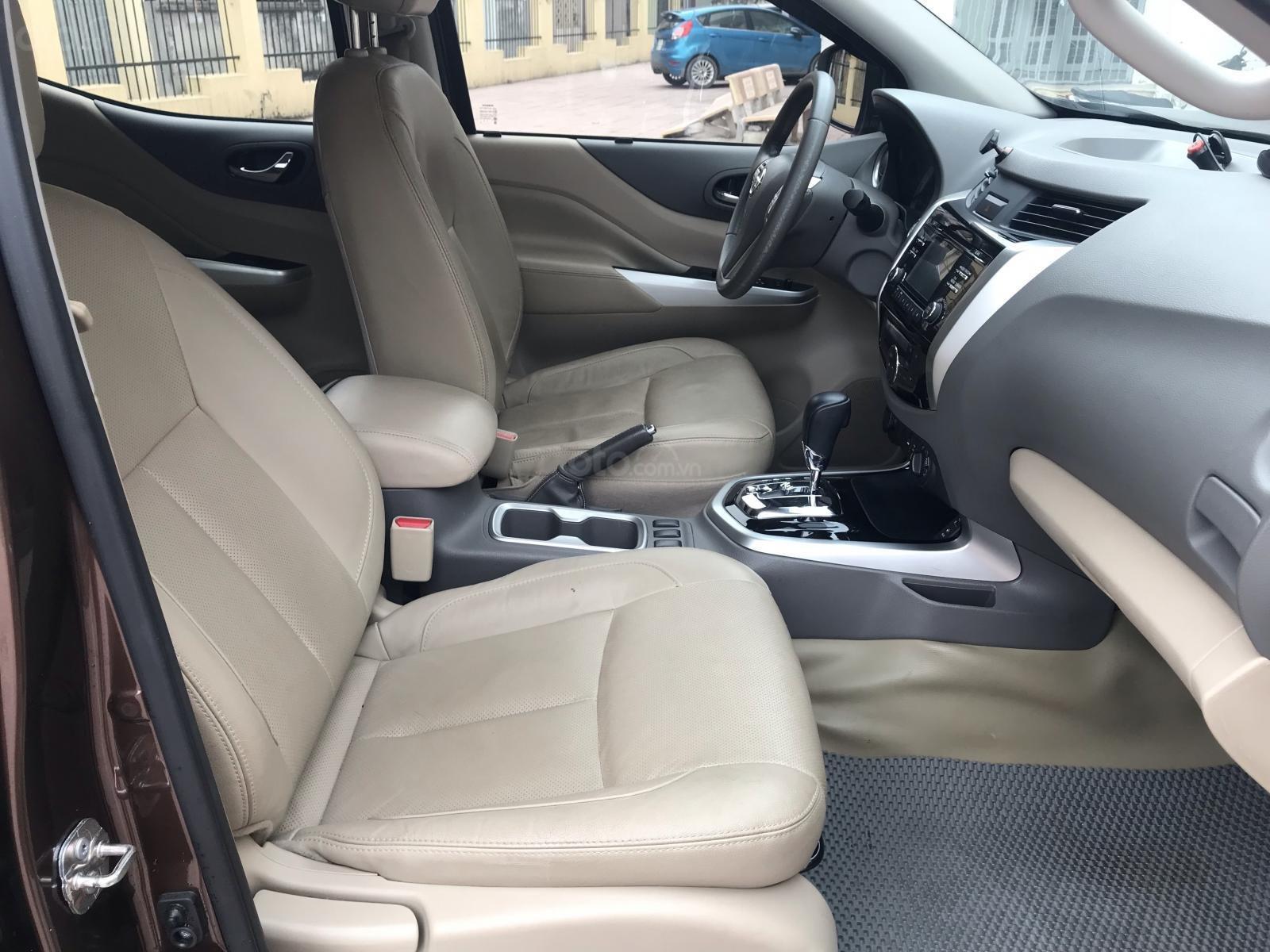 Bán Nissan Navara VL sản xuất năm 2016, màu nâu, nhập khẩu nguyên chiếc, giá chỉ 675 triệu-12