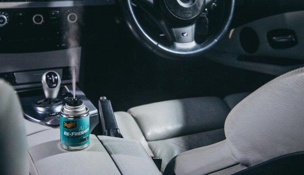 Cẩn trọng khi sử dụng dung dịch khử mùi ô tô cấp tốc.