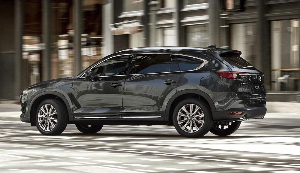 Mazda CX-8 được xây dựng trên nền tảng của một mẫu Crossover...