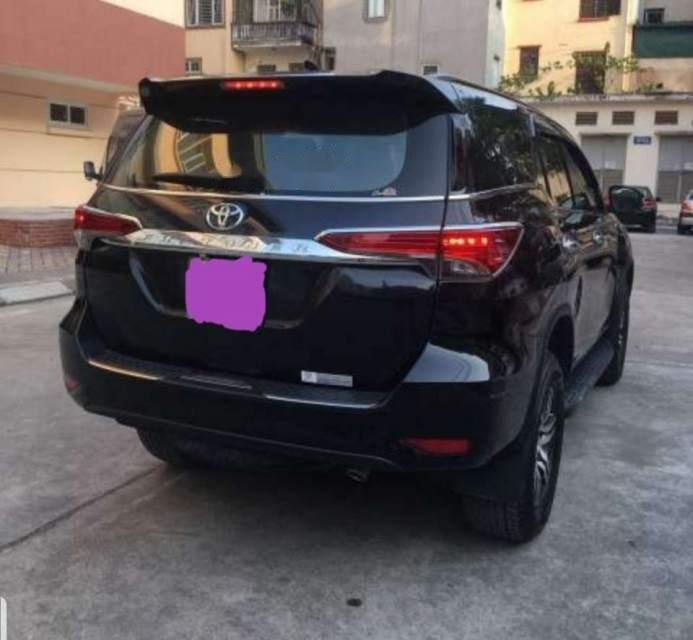 Bán xe Toyota Fortuner 2.4MT sản xuất 2018, màu đen, nhập khẩu nguyên chiếc chính chủ-1