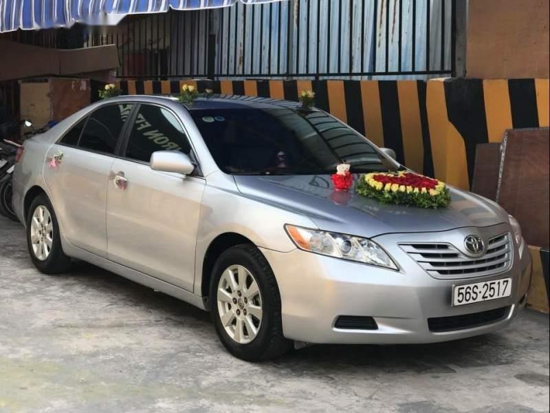 Bán Toyota Camry LE đời 2007, màu bạc, nhập khẩu (1)