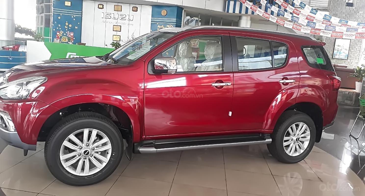 Bán Isuzu mu-X 1.9 4X2 AT đời 2019, màu đỏ, xe nhập (2)
