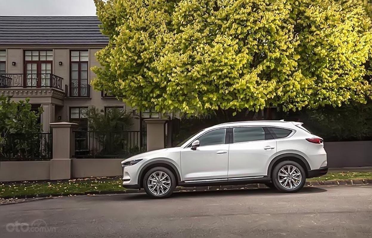 Cần bán Mazda CX-8 đời 2019, màu trắng (1)