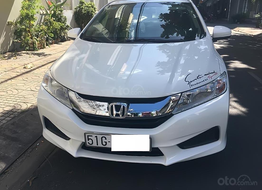 Bán Honda City 1.5 MT 2017, màu trắng số sàn, giá 468tr (1)