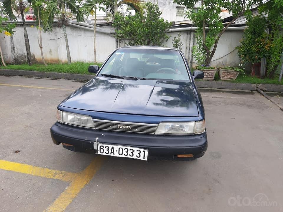 Bán xe Toyota Camry 2.0 đời 1987, màu xanh, nhập khẩu nguyên chiếc, 70tr (1)