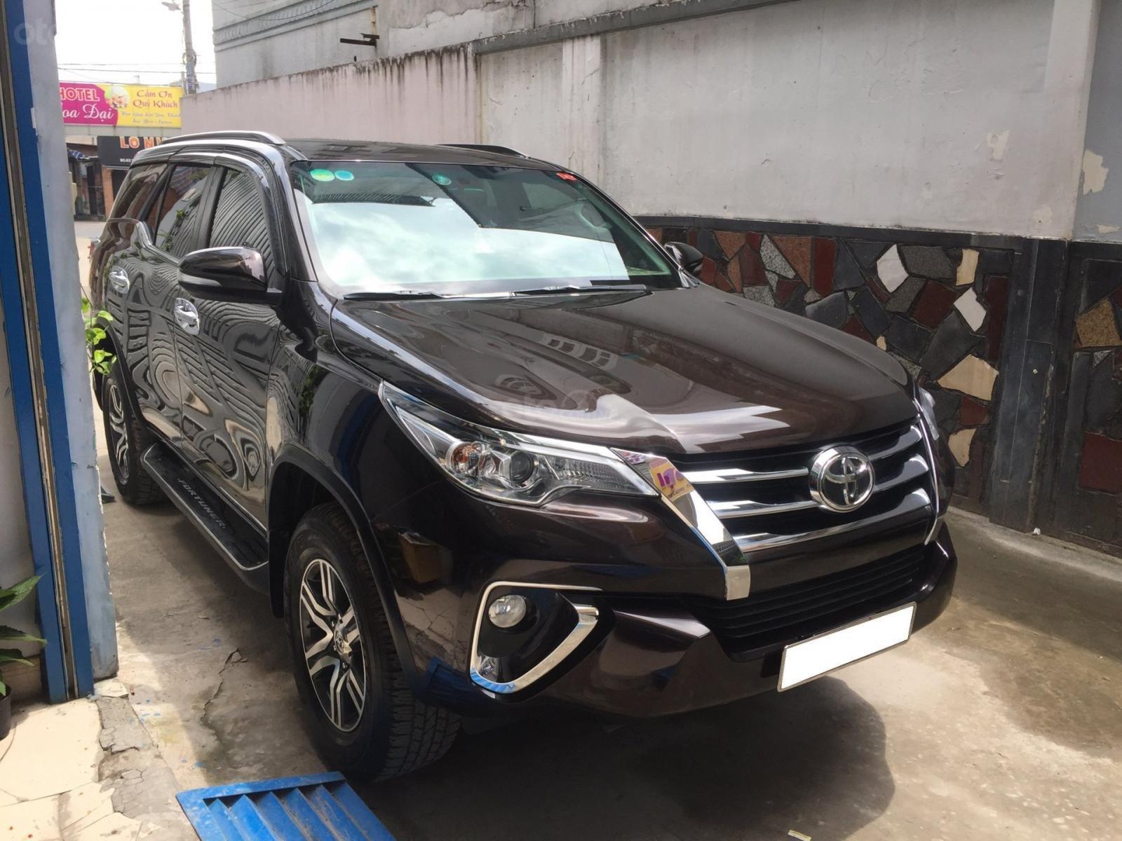 Bán xe Toyota Fortuner 2018 số tự động, máy xăng, nhập Indo (2)