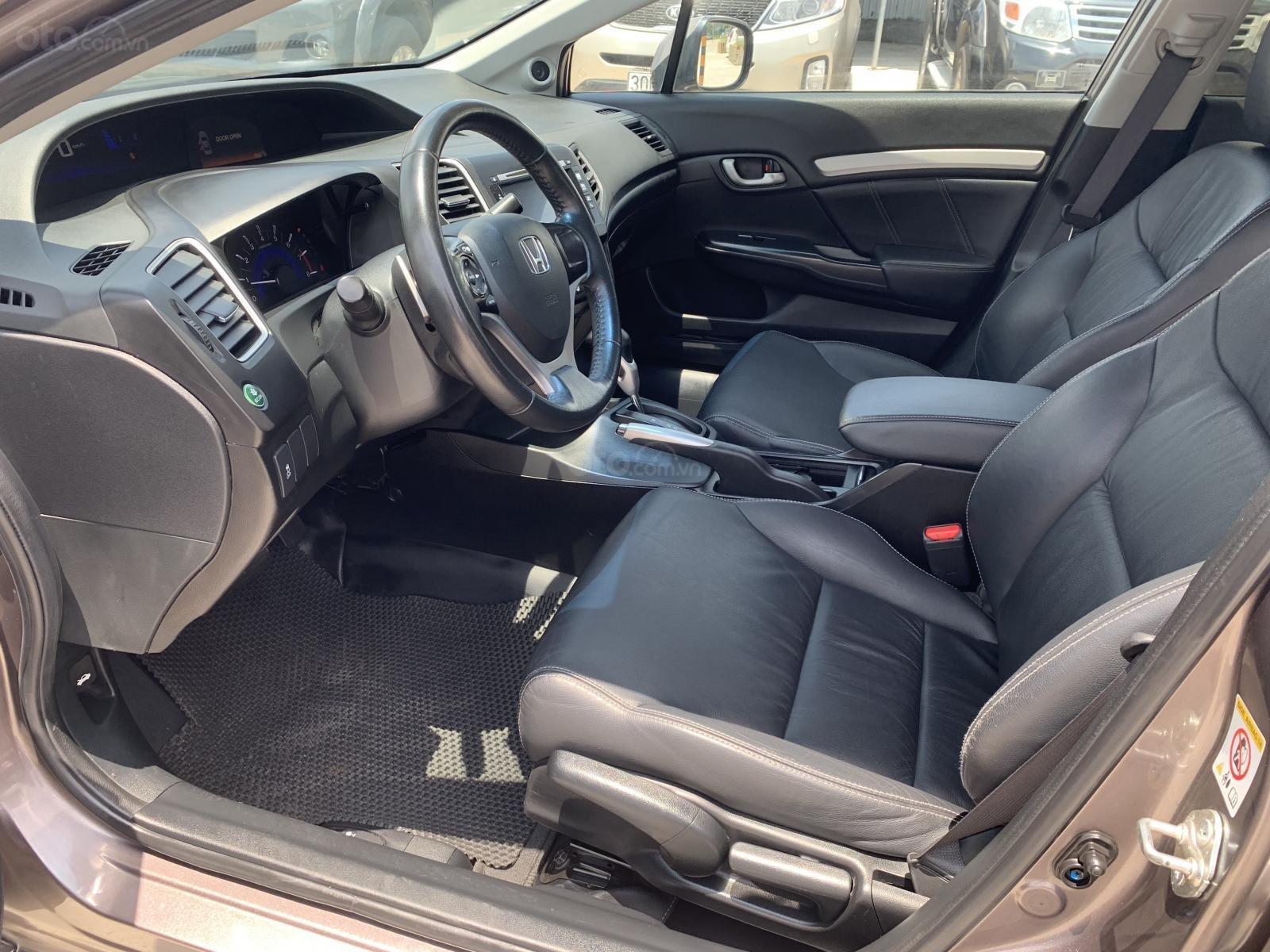 Cần bán lại xe Honda Civic 2.0 đời 2015, màu xám (3)