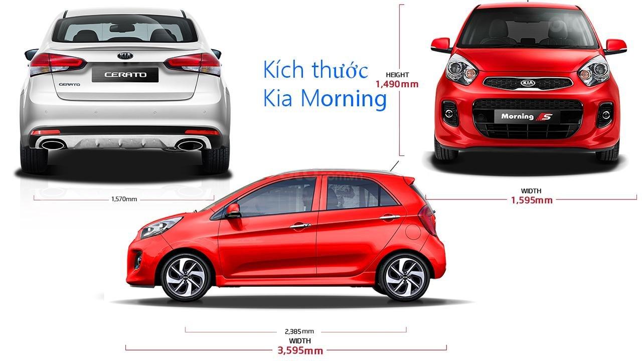 Thông số kỹ thuật xe Kia Morning 2019 tại Việt Nam 2a