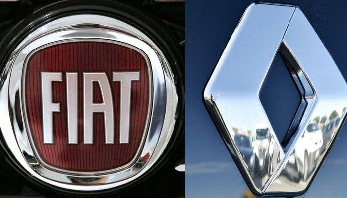 logo Renault Fiat Chrysler.