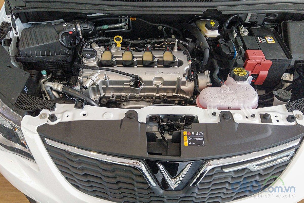 Đánh giá xe VinFast Fadil 2019: Xe chỉ có một động cơ duy nhất.