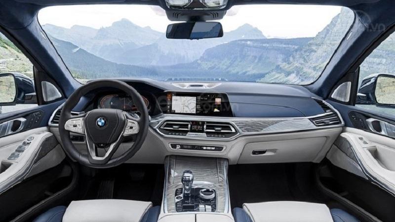 Khoang cabin BMW X7 2019...