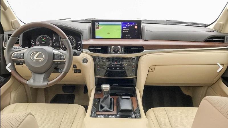 Khoang cabin Lexus LX570 2019...