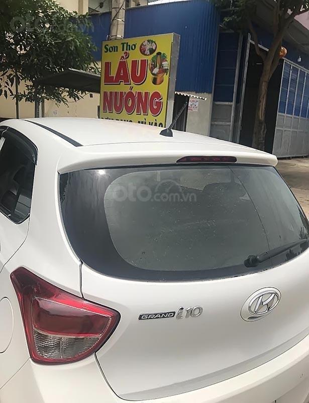 Bán xe Hyundai Grand i10 năm sản xuất 2014, màu trắng, nhập khẩu (5)