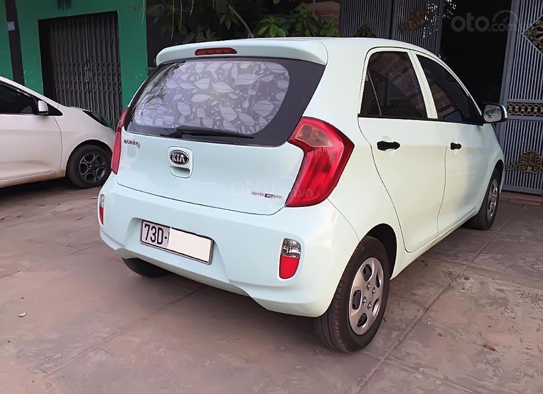 Cần bán lại xe Kia Morning Van năm sản xuất 2014, màu xanh lam  (4)