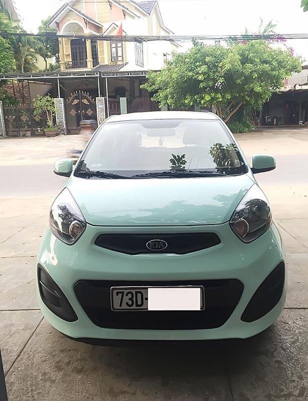 Cần bán lại xe Kia Morning Van năm sản xuất 2014, màu xanh lam  (1)