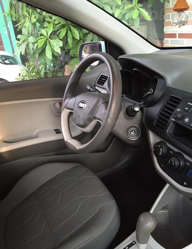 Cần bán lại xe Kia Morning Van năm sản xuất 2014, màu xanh lam  (3)