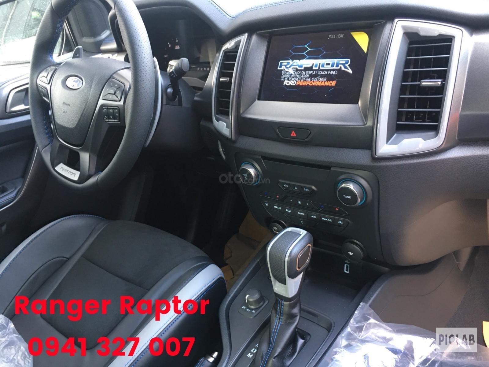 Bán Ford Ranger Raptor nhập khẩu nguyên chiếc Thailand, màu trắng, giao ngay có KM (7)