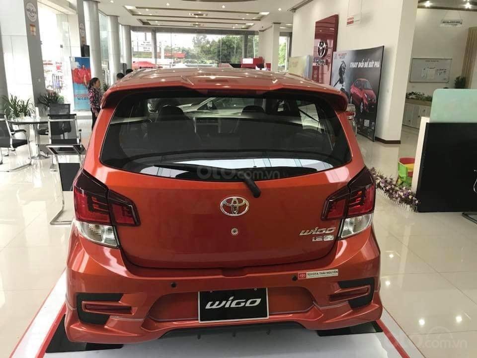 Bán Toyota Wigo 1.2G AT 2019, giá cạnh tranh 45tr + 10tr phụ kiện-0