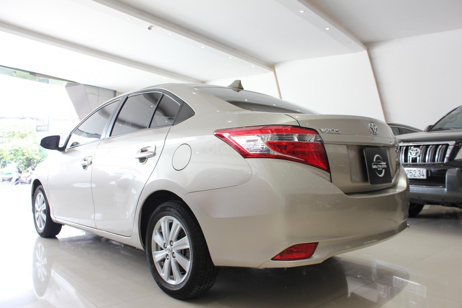 Cần bán Toyota Vios E đời 2017, màu bạc số tự động, 510 triệu (2)