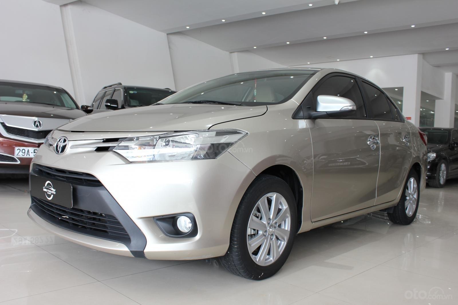 Cần bán Toyota Vios E đời 2017, màu bạc số tự động, 510 triệu (14)