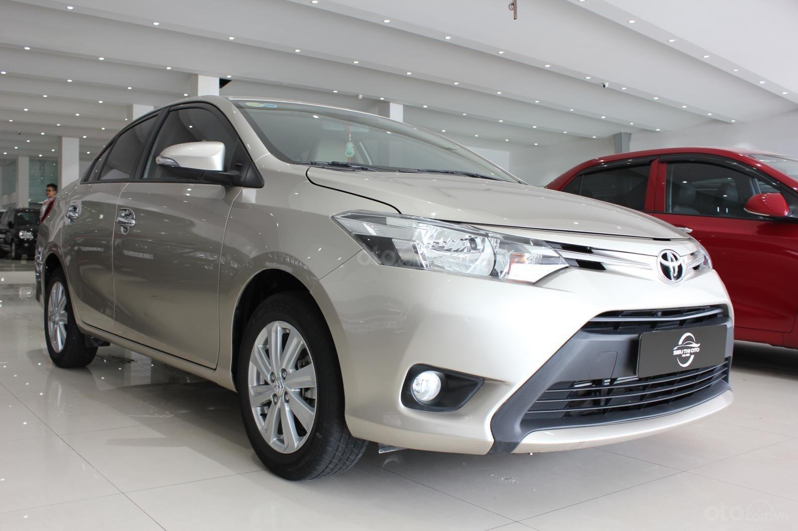 Cần bán Toyota Vios E đời 2017, màu bạc số tự động, 510 triệu (1)