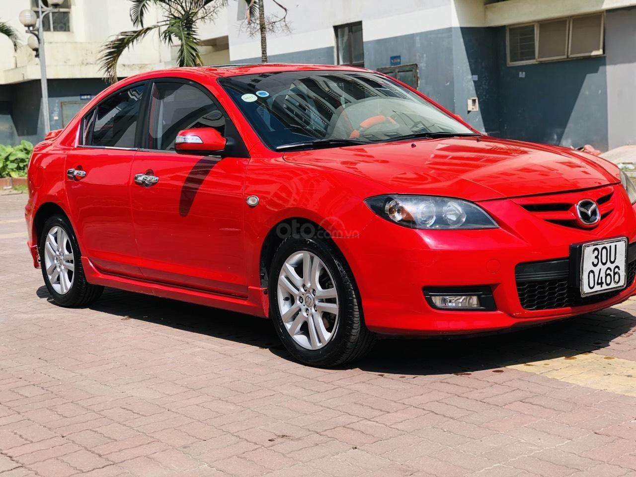 Mazda 3 - 2.0S SX 2009, màu đỏ, nhập khẩu nguyên chiếc-1