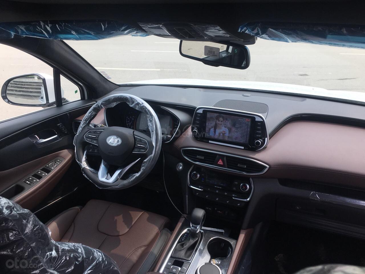 Bán Hyundai Santa Fe 2019 Premium, giá cực tốt cùng nhiều phần quà tặng hấp dẫn, sẵn xe giao ngay-5