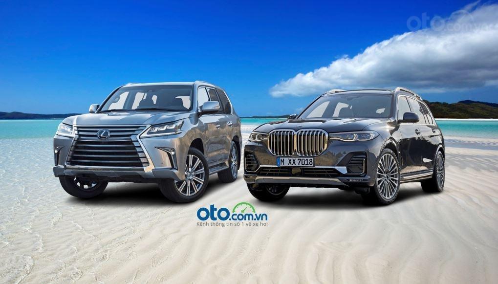 So sánh Lexus LX570 2019 và BMW X7 2019...