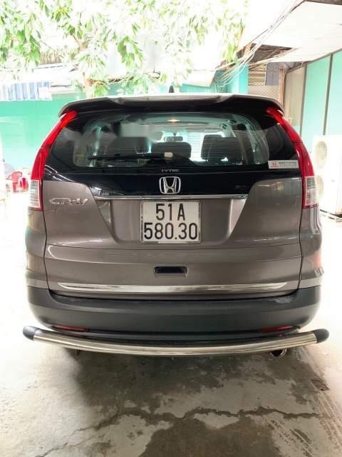 Chính chủ bán ô tô Honda CR V năm 2013, màu xám-2