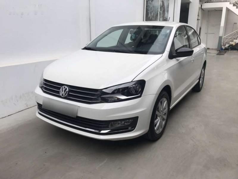 Bán xe Volkswagen Polo 2019, màu trắng, nhập khẩu nguyên chiếc-1