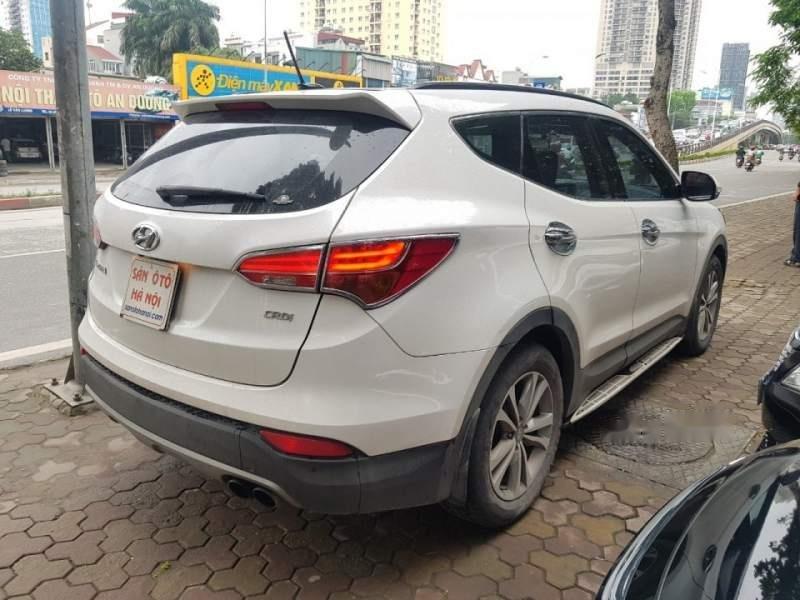 Cần bán xe Hyundai Santa Fe đời 2015, màu trắng chính chủ giá cạnh tranh-2