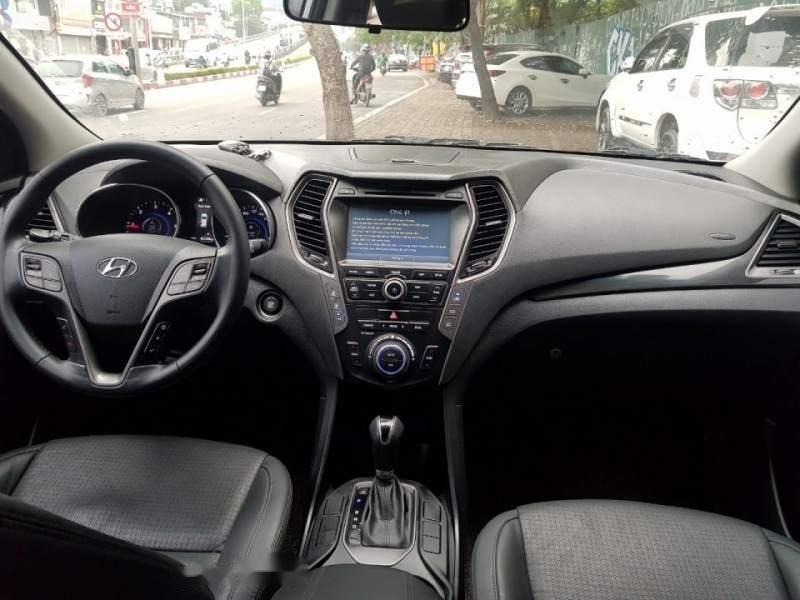 Cần bán xe Hyundai Santa Fe đời 2015, màu trắng chính chủ giá cạnh tranh-5